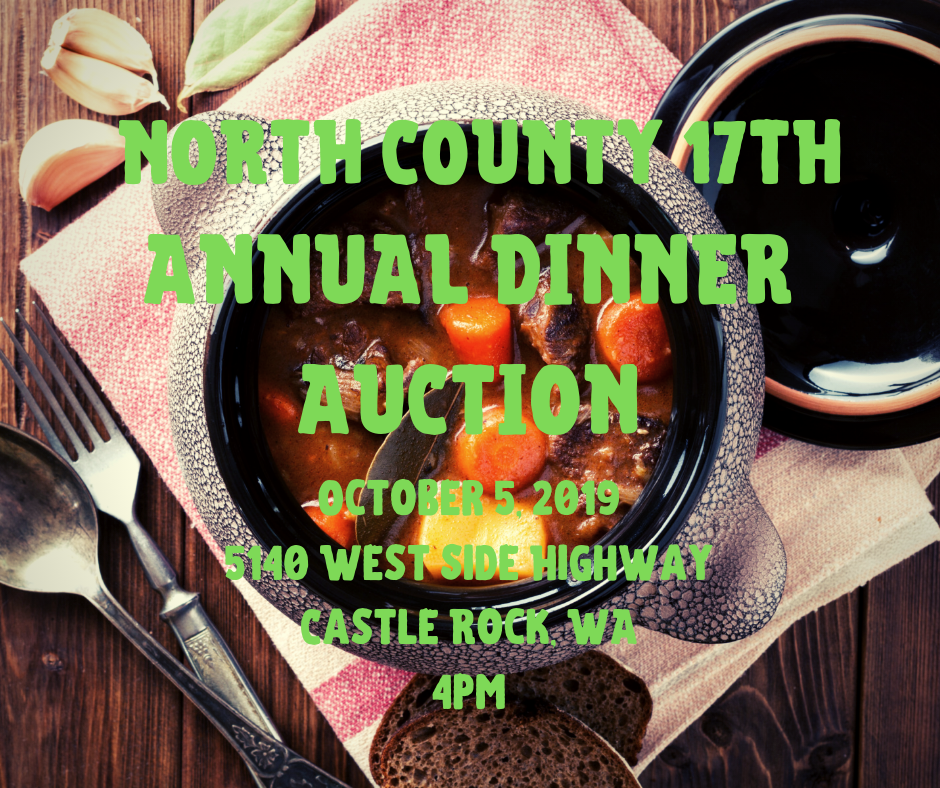 North County 17th Annual Dinner Auction – Castle Rock Chamber